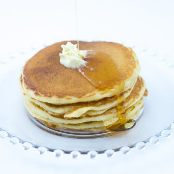 cornmeal pancakes made with cornmeal pancake mix