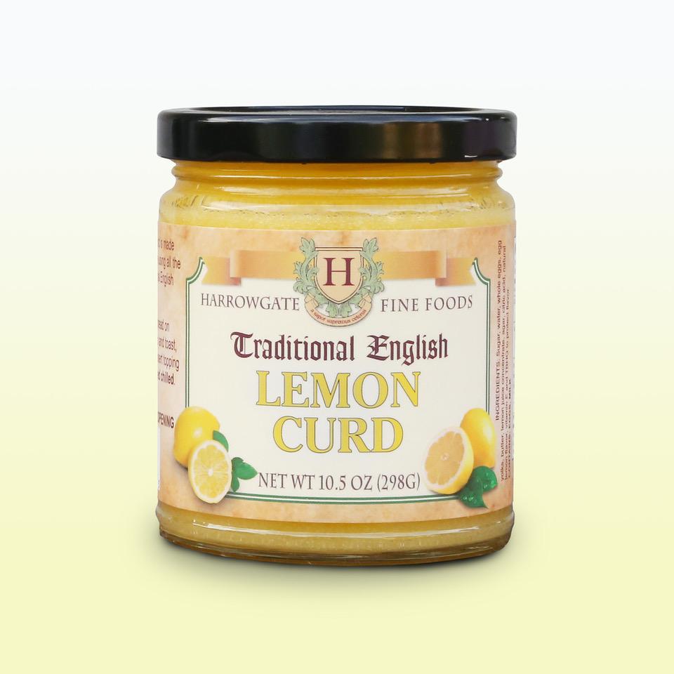 A jar of Traditional English Lemon Curd