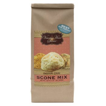 Retail bag of Indian Chai Scone Mix