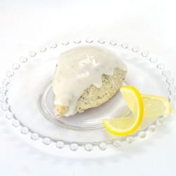 Lemon Poppyseed Scone made with Lemon Poppyseed Scone Mix