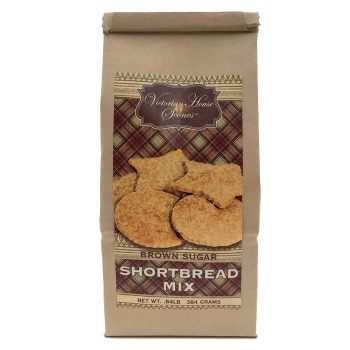 Retail Package of Brown Sugar Shortbread Mix